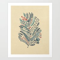 Art Print featuring Turning Over A New Leaf by Monica Gifford