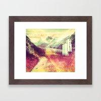 The Moment's Passed Framed Art Print