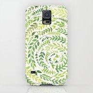 Leaf Pattern 2 Galaxy S5 Slim Case