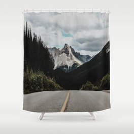 Shower Curtain - Mountain Road - Lost Empire