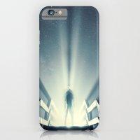 Beaming Light under the Stars iPhone 6 Slim Case