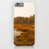 Autums Peaceful Tomorrow - New England Fall Landscape iPhone 6 Slim Case