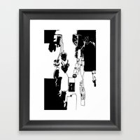 Conflicted Collection Framed Art Print