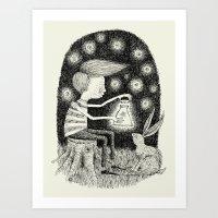 'Lantern' Art Print