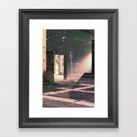 Reflexion, Adrien THIBAU… Framed Art Print