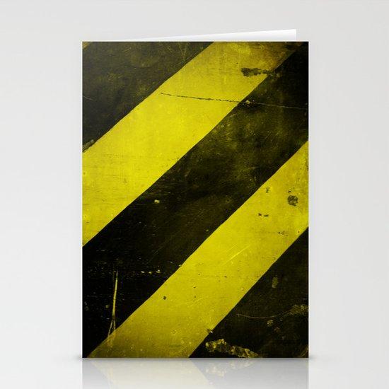 Warning II! Stationery Card