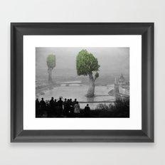 City of Nature Framed Art Print