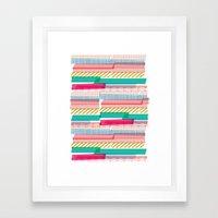 Washi Framed Art Print