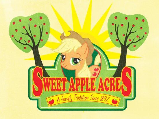 Sweet Apple Acres Art Print