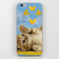 Kitty Wonder iPhone & iPod Skin