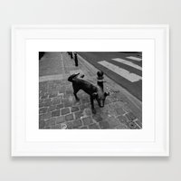 New Territory  Framed Art Print