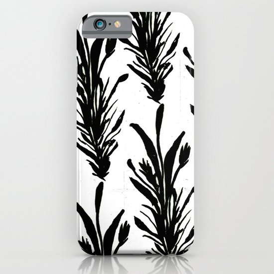 Black Leaves iPhone & iPod Case