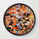 Glitch Pin-Up: Whitney Wall Clock