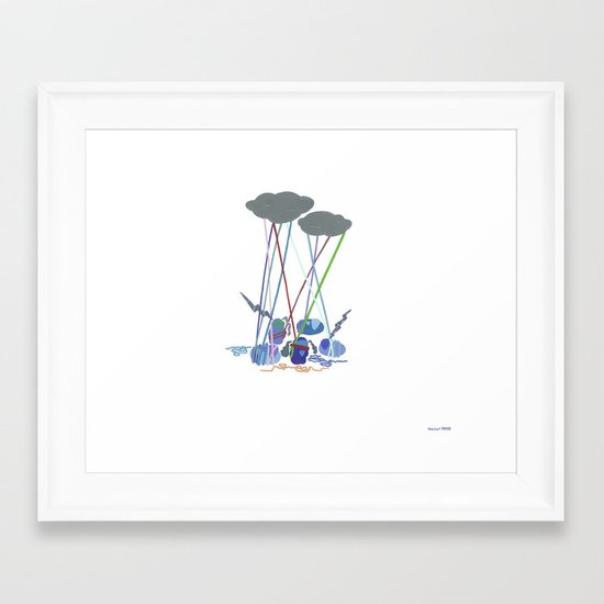 The Road to Self Actualization, III Framed Art Print