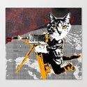 Cat Explorer 2 Canvas Print