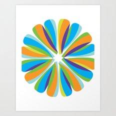 Color Fusion Art Print