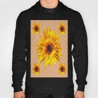 Yellow Sunflowers  Desig… Hoody