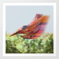 Sweet Hummingbird Of Par… Art Print
