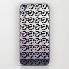Rows of Flowers, Purple iPhone & iPod Skin