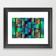 Abstract Square Wall Framed Art Print