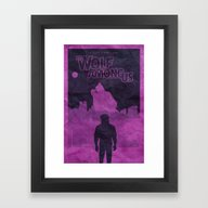 The Wolf Among Us - Post… Framed Art Print