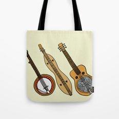 Banjo, Dulcimer, Resonator Tote Bag