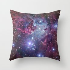 Nebula Galaxy Throw Pillow
