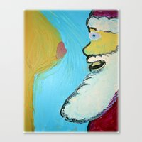 After All The Milk N' Cookies Canvas Print