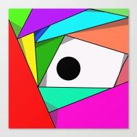 The Eyeball Canvas Print