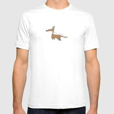 Finally Allowed to Fly Mens Fitted Tee SMALL White
