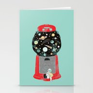 My Childhood Universe Stationery Cards