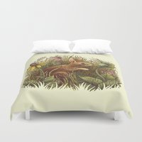 The Cottontail And The K… Duvet Cover