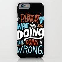 Doing It Wrong iPhone 6 Slim Case