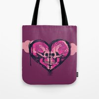 Love Skulls Redux Tote Bag