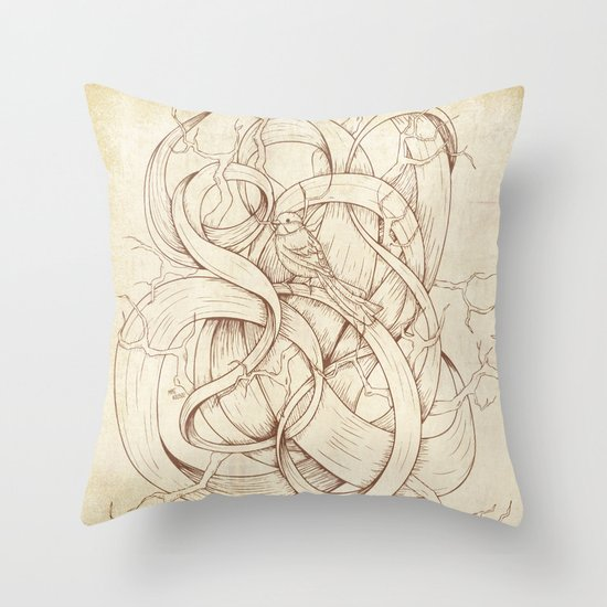 Escape | VACANCY zine | Throw Pillow