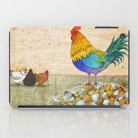 The Cockerel And The Jew… iPad Case