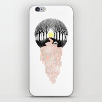 Through Darkness into the Light iPhone & iPod Skin