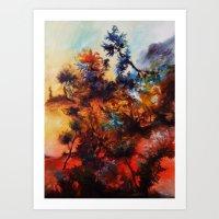 Zurück zur Natur Art Print