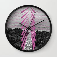 Surreal Beachscape Wall Clock