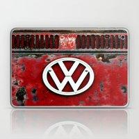 VW Retro Red Laptop & iPad Skin