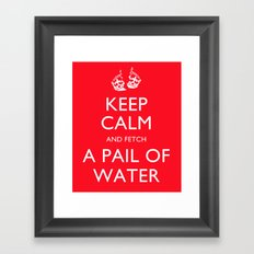 Keep Calm, Jack Framed Art Print