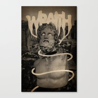 WRAITH - Skin & Soul Div… Canvas Print