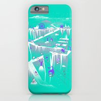 Penguins (flat, Palette … iPhone 6 Slim Case