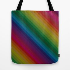 Sophisticated Rainbow Tote Bag