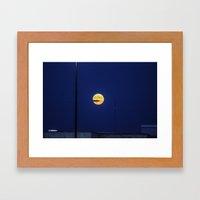 Lunar Eclipse Framed Art Print