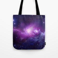 PURPLE GALAXY Tote Bag