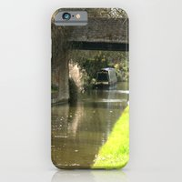 Canal Bridge in Newhampstonshire England iPhone 6 Slim Case
