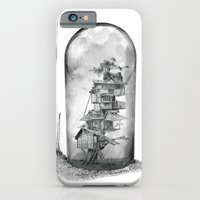 iPhone & iPod Case featuring Snail - Evolving Home by Adam Dunt