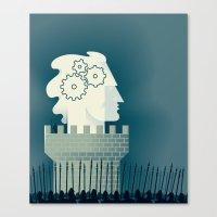 Defending Intellectual P… Canvas Print