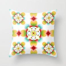 Atomic Ornament Throw Pillow